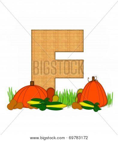 Alphabet Blessed Bounty F