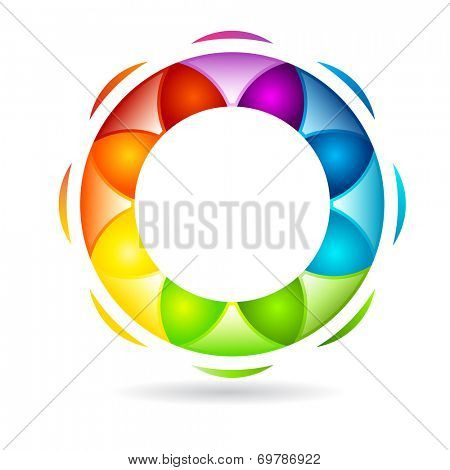 Abstract circular design