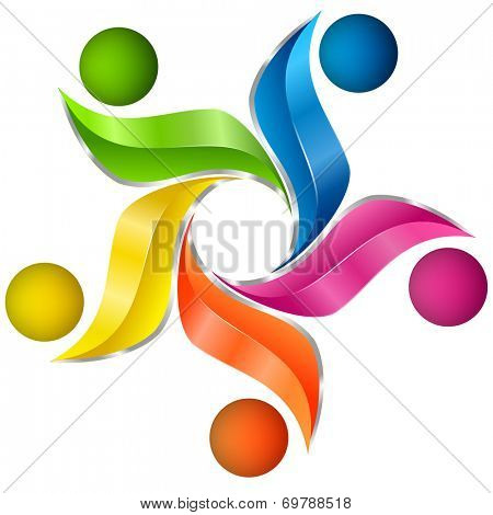 Colorful artistic design