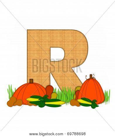 Alphabet Blessed Bounty R