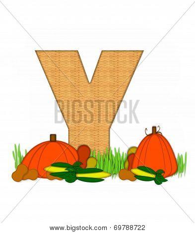 Alphabet Blessed Bounty Y
