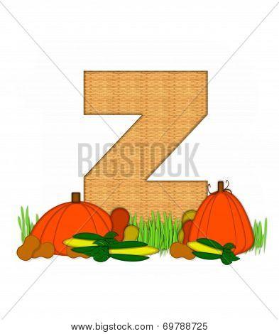 Alphabet Blessed Bounty Z