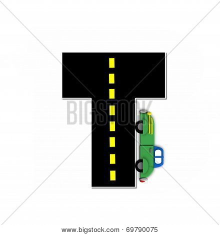 Alphabet Transportation By Road T