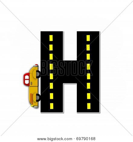 Alphabet Transportation By Road H