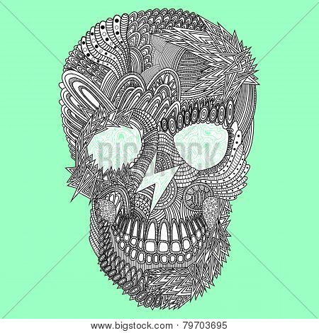 Vector Funny Skull