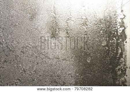 Sepia hoarfrost - abstract background