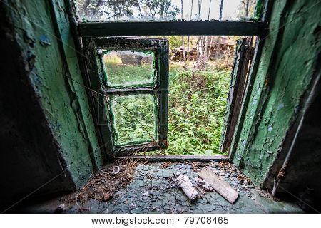 Village In Chernobyl Zone