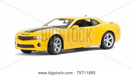 New Yellow Model Sport Car
