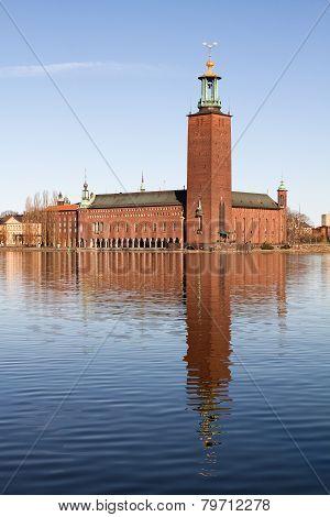 Stadshuset in Stockholm.