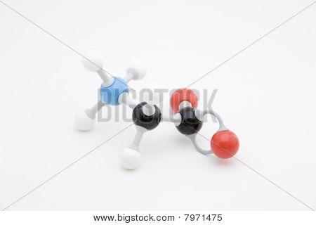 Glycine Amino Acid Molecule