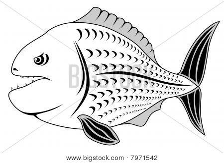 Piranha, Tattoo