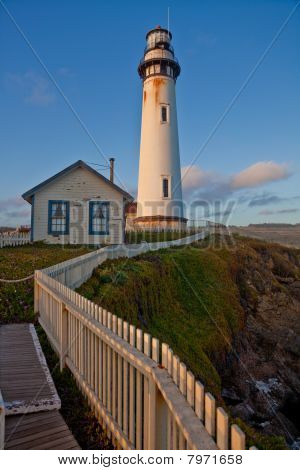 Pigeon Point Lighthouse Pacific Ocean California U.S.A.