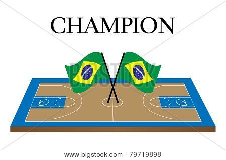 Basketball Champion Brazil