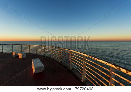 From The Wharf Of Marina Di Massa