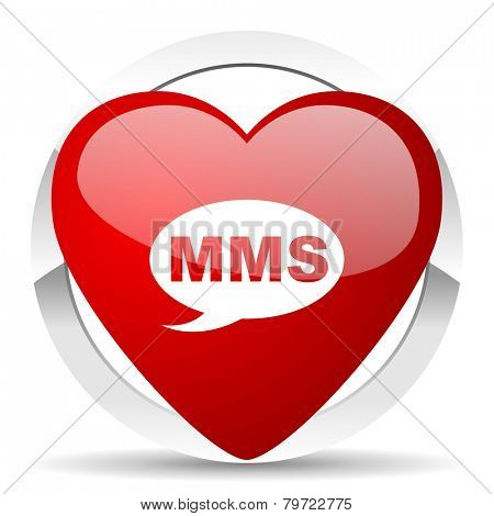 mms valentine icon message sign
