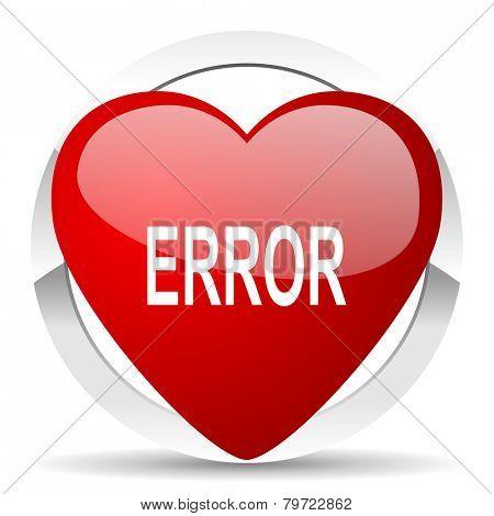 error valentine icon