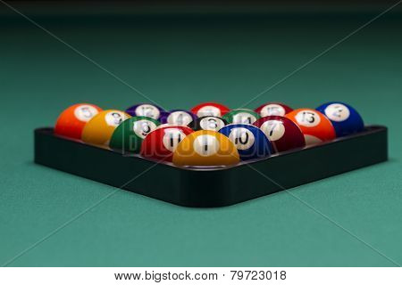 Arranged Billiard Balls