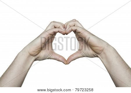 Copy Space Heart Hands