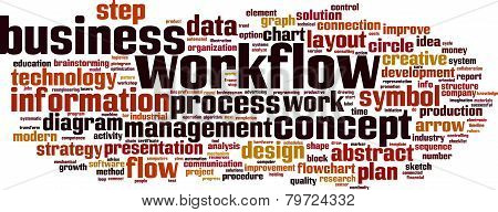 Workflow Word Cloud