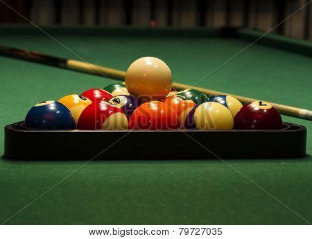 Arranged Billiard Balls