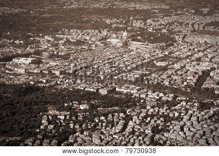 Rome Aerial View
