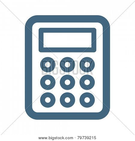 Calculator Web Icon