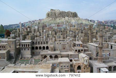 Old City Miniature