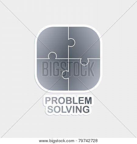 Problem Solving puzzle theme