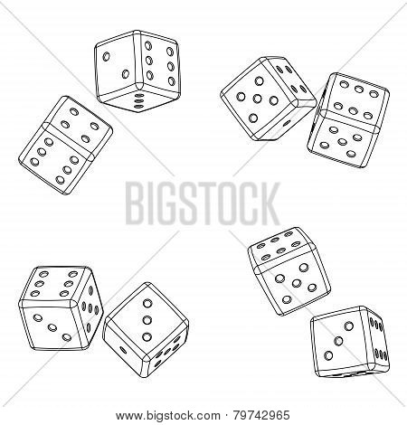 Dices projections
