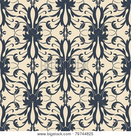 Abstract Floral Lattice