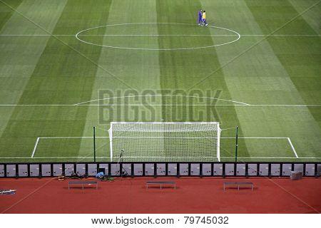 View Of Olympic Stadium (nsc Olimpiysky) In Kyiv, Ukraine