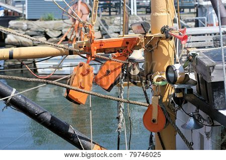 Rigged Pulleys