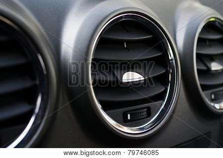 Automotive air ventilation