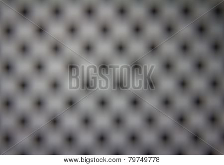 The Blur Dot Grid Background
