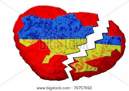 Broken Heart, Ukraine