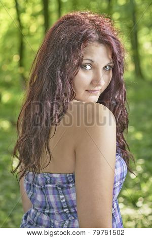 Young Girl outdoor portrait