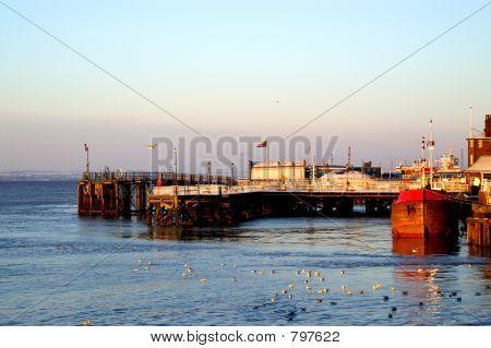 Hull dockside