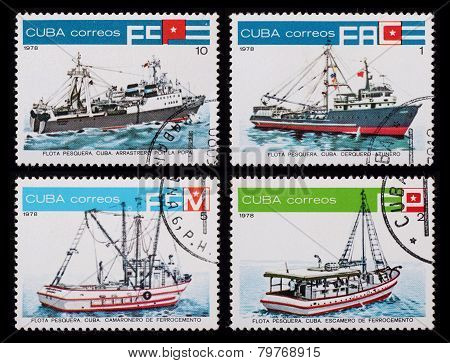 Post Stamp. Ships