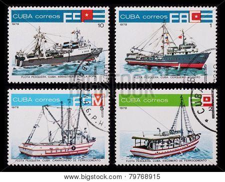 Post Stamp. Ships