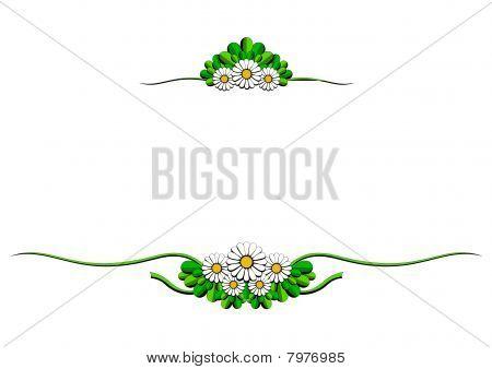 daisy cartoon ornaments
