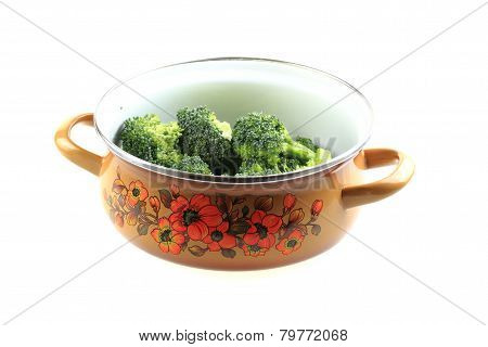 Brocoli In The Pot