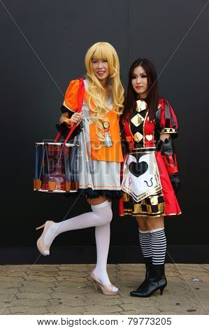 Comic Character, Asian Cosplayer