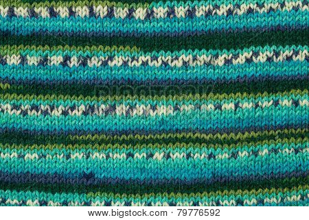 Colorful Knitting Background