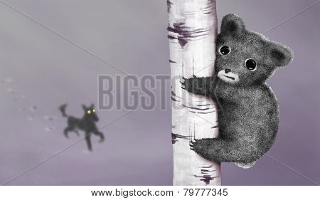 Escaping little bear