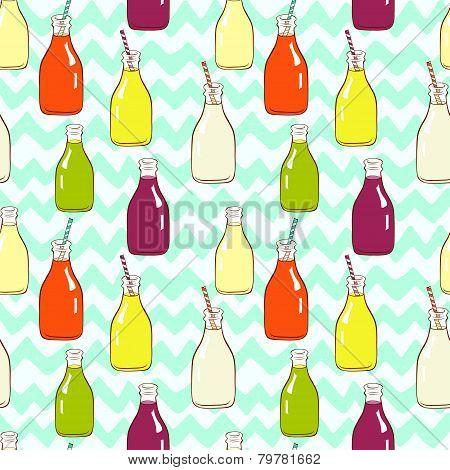 Bottles pattern