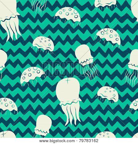Jellyfish pattern