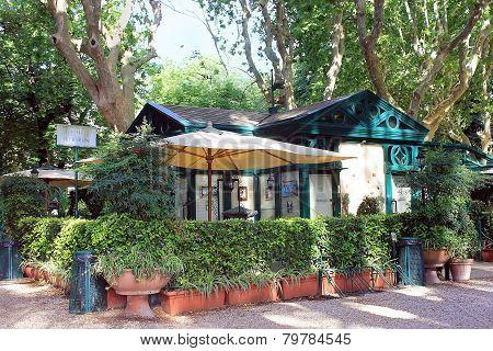 Restaurant La Casina Dell Orologio, Villa Borghese, Rome