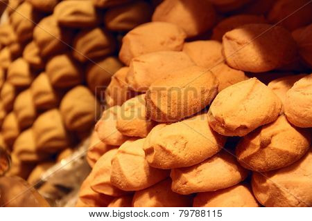 Biscuits For Sale In Pastry Shop