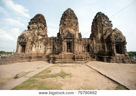 Phra Prang Sam Yod Temple,Thailand.
