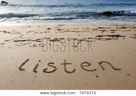Listen to the sea